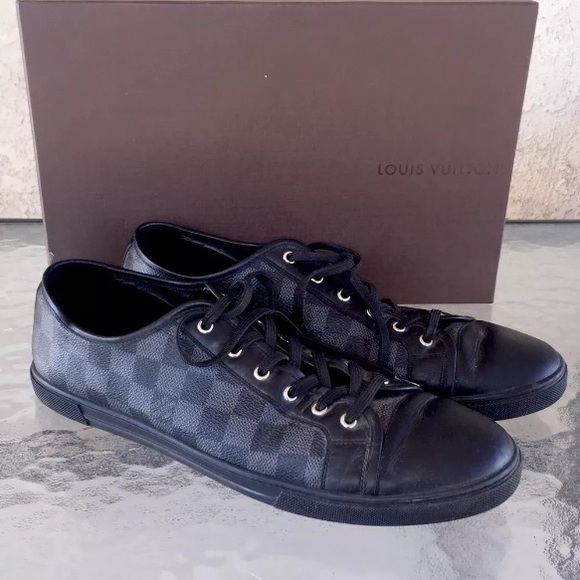 93d74811a63 Men's Louis Vuitton Leather GO 1019 Trainers