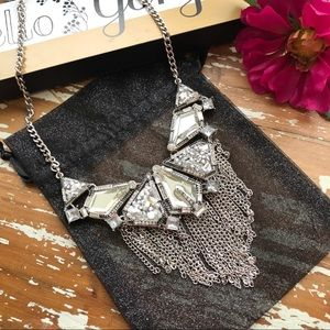 Jewelry - Just In✨Trendy Silver Cluster & Tassels Necklave✨