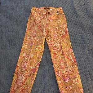 Pants - Paisley pants