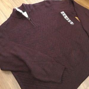 Calvin Klein Jeans Other - 🆕Calvin Klein 1/2zip Sweater, Bordeaux, StayWarm!