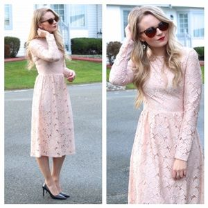 H&M Long Sleeve Lace Dress NWOT