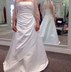 14 off matthew christopher dresses skirts wedding for Need to sell my wedding dress