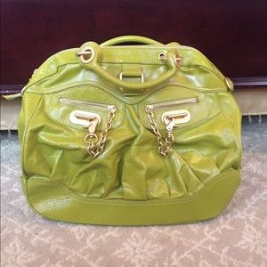 Hype Handbags - *Hype* Leather Handbag - Citron & Gold