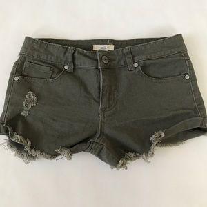 Blue Asphalt Pants - Blue Asphalt Olive Green Shorts