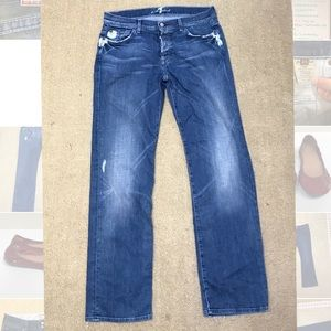 Men's 7 Seven for All Mankind distressed jeans