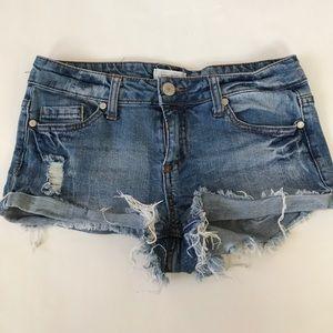 Blue Asphalt Pants - Blue Asphalt Denim Shorts