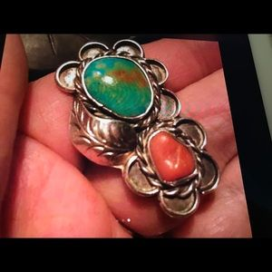 Jewelry - SALE Turquoise Coral Ring