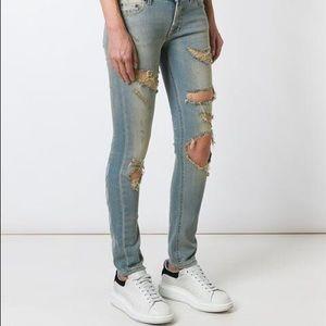 Off-White Denim - Off-white virgil abloh women's jeans