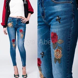 Denim - Sexy skinny denim jeans trousers trendy new