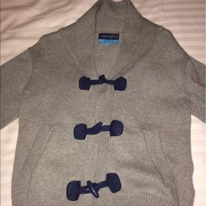Andy & Evan Other - Boys Andy & Evan Toggle Cardigan