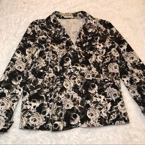 Cold water Creek women's 3 Button Blazer jacket