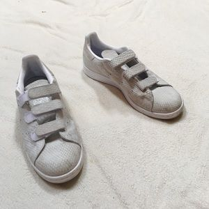 Adidas Stan Smith velcro shoes