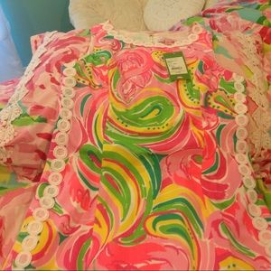 Lilly pulitzer Shift Dress Sz 6 NWT