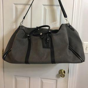 Combatant Gentleman Other - Charcoal Canvas Weekender Garment Bag