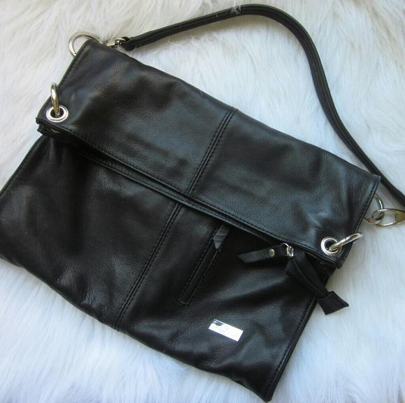 977528da2eb2 Italian Leather Designer Foldover Bag. M 590d02707f0a057fdf01acbb