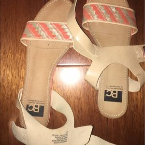 Sandals from PAC sun worn few times