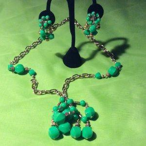 Vintage Set Necklace/Earrings Fun