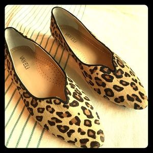 Vaneli Shoes - Vaneli Cheetah Calf Hair Flats. NWOT/AS IS