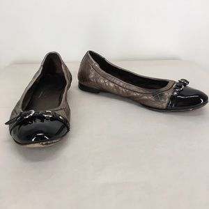 Attilio Giusti Leombruni Shoes - Attilio Giusti Leombruni Quilted Ballet Flat