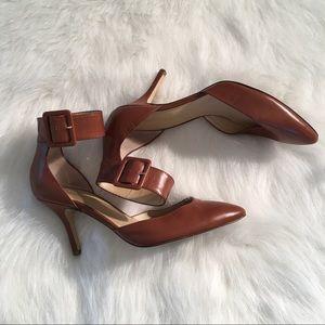 Audrey Brooke Shoes - Audrey Brooke ankle strap heels