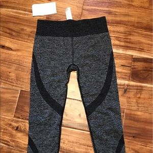 Fabletics cropped workout leggings