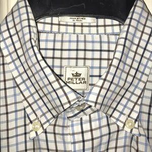 Peter Millar Other - 💲⬇️💙PETER MILLAR💙Striped Longsleeve Dress Shirt