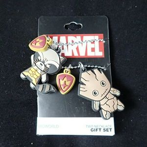 Marvel Bioworld Guardians of the Galaxy Necklaces