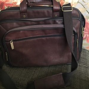 Heritage Other - Large leather briefcase