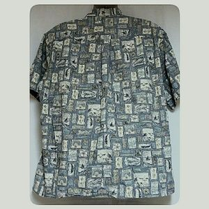Cooke Street Shirts - *HP*Mens Cooke Street Hawaiian Shirt Reverse Print