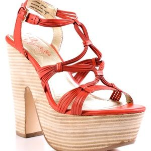 Seychelles Shoes - Seychelles Chunky Coral Sandals