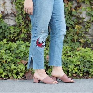 GAP Jeans - Gap 1969 Embroidered Girlfriend Jeans