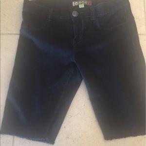 ROXY Black Long Shorts