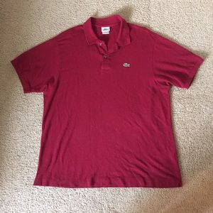 Lacoste Other - Men's Red Lacoste Polo