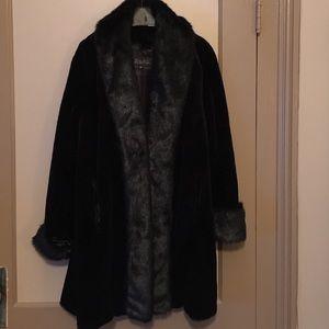 Fabulous Furs Jackets & Blazers - Faux sheered beaver coat.