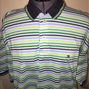 Tommy Hilfiger Other - Men's Tommy Hilfiger blue & green polo shirt  XL