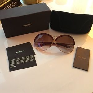 Tom Ford Accessories - Tom Ford Valesca SunglassesLike New! No Scratches