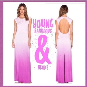 Young Fabulous & Broke Dresses & Skirts - NWT Young Fabulous & Broke Bryton Maxi, Orchid, S
