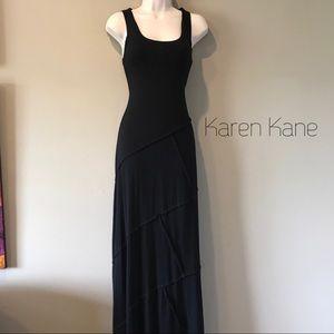 Karen Kane Dresses & Skirts - Karen Kane Black PatchworkMaxi Dress, S