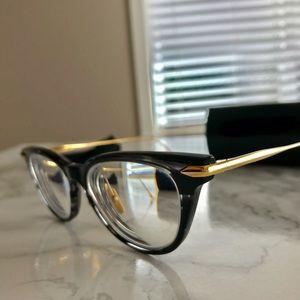 76a70b3fe65 DITA Accessories - DITA VIDA Cat Eye Eyeglasses Smoke Crystal Black