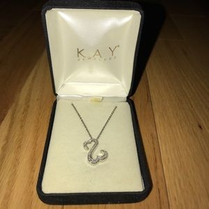 Kay Jewelers Jewelry - Open Heart Collection diamond necklace