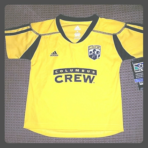 NWT Adidas COLUMBUS CREW Soccer Jersey Toddler 1d6ee1a01