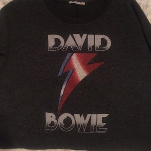 Junk Food Clothing Tops - junk food || David Bowie Top