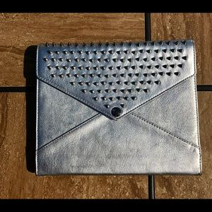 Rebecca Minkoff Silver Spike Stud iPad Tablet Case