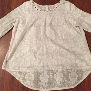Simply Be Tops - Victorian lace top