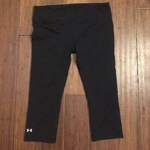 Under Armor heat gear Capri workout / yoga pants
