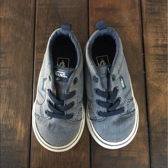 72% off Vans Other - Toddler Boy Vans Sneakers & Slip Ons ...