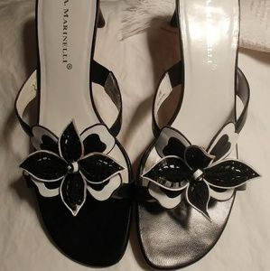 A. Marinelli Shoes - Floral sandals