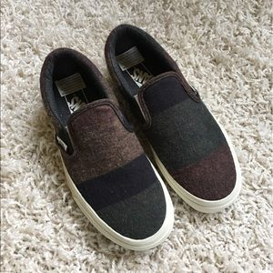 Vans Wool Slipon Sneakers NEW