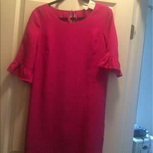 NWT dress with statement sleeves (one day sale)