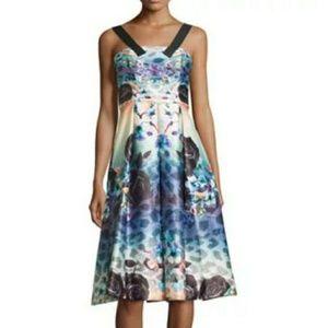 NWT MACKENZIE MODE watercolor dress